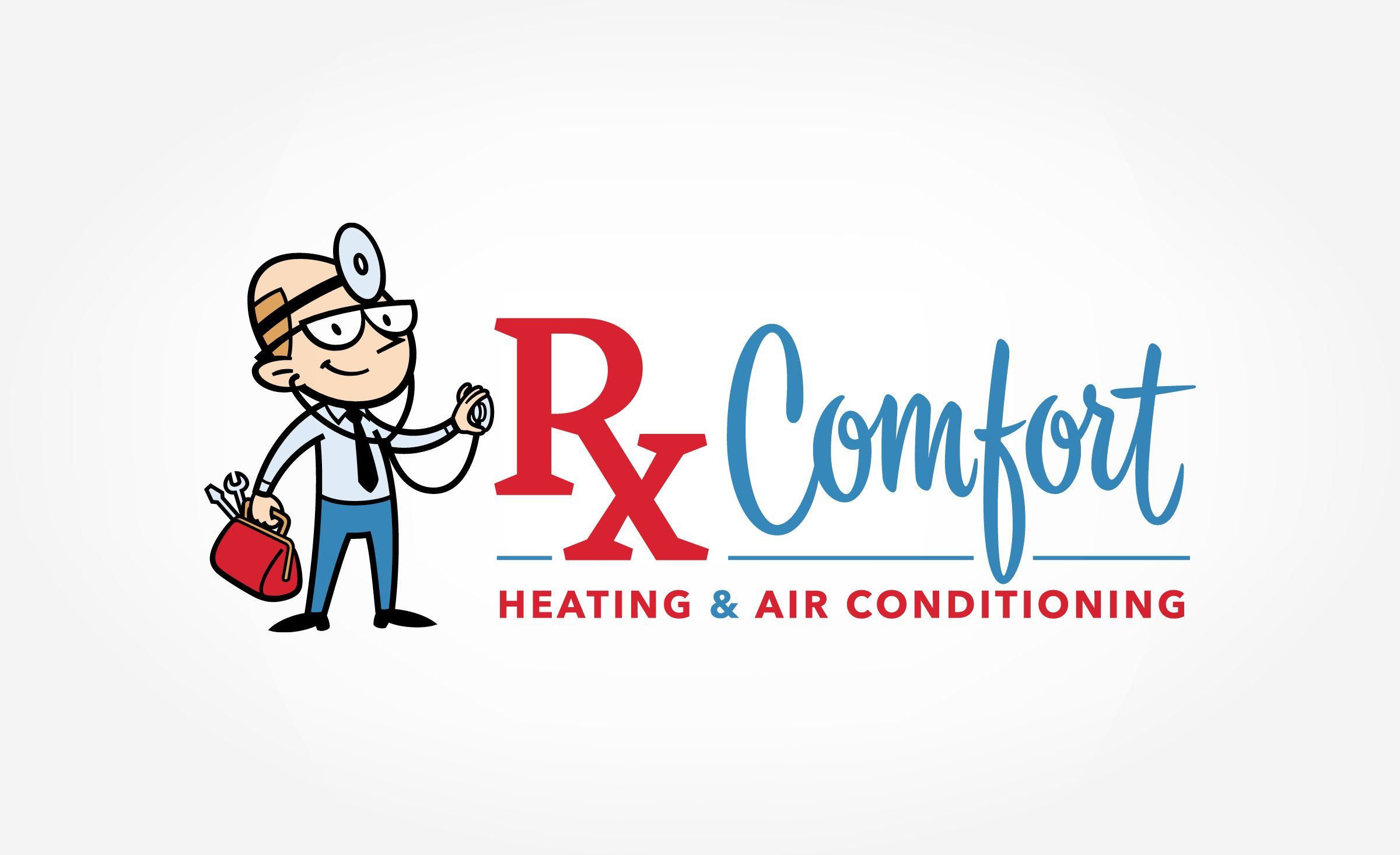 CoolWay Air Conditioning & Heating Retro logo design