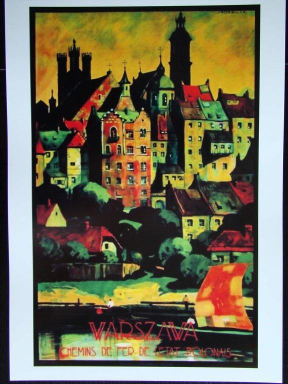 Plakat Art Deco Warszawa Norblin 1926 R 5082896135