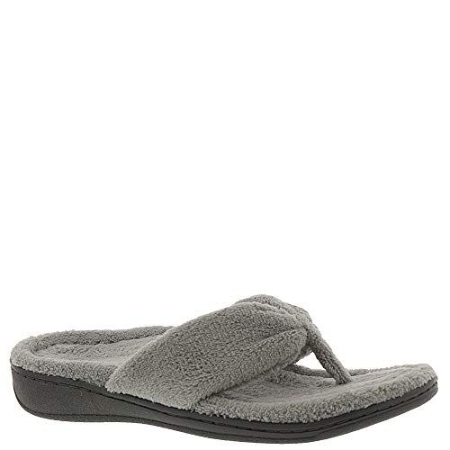 74874289546 Vionic with Orthaheel Indulge Gracie Womens Slipper 11 BM US Light Grey      Want to know more