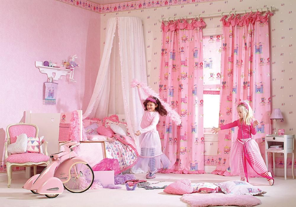 little girls bedroom curtains uk