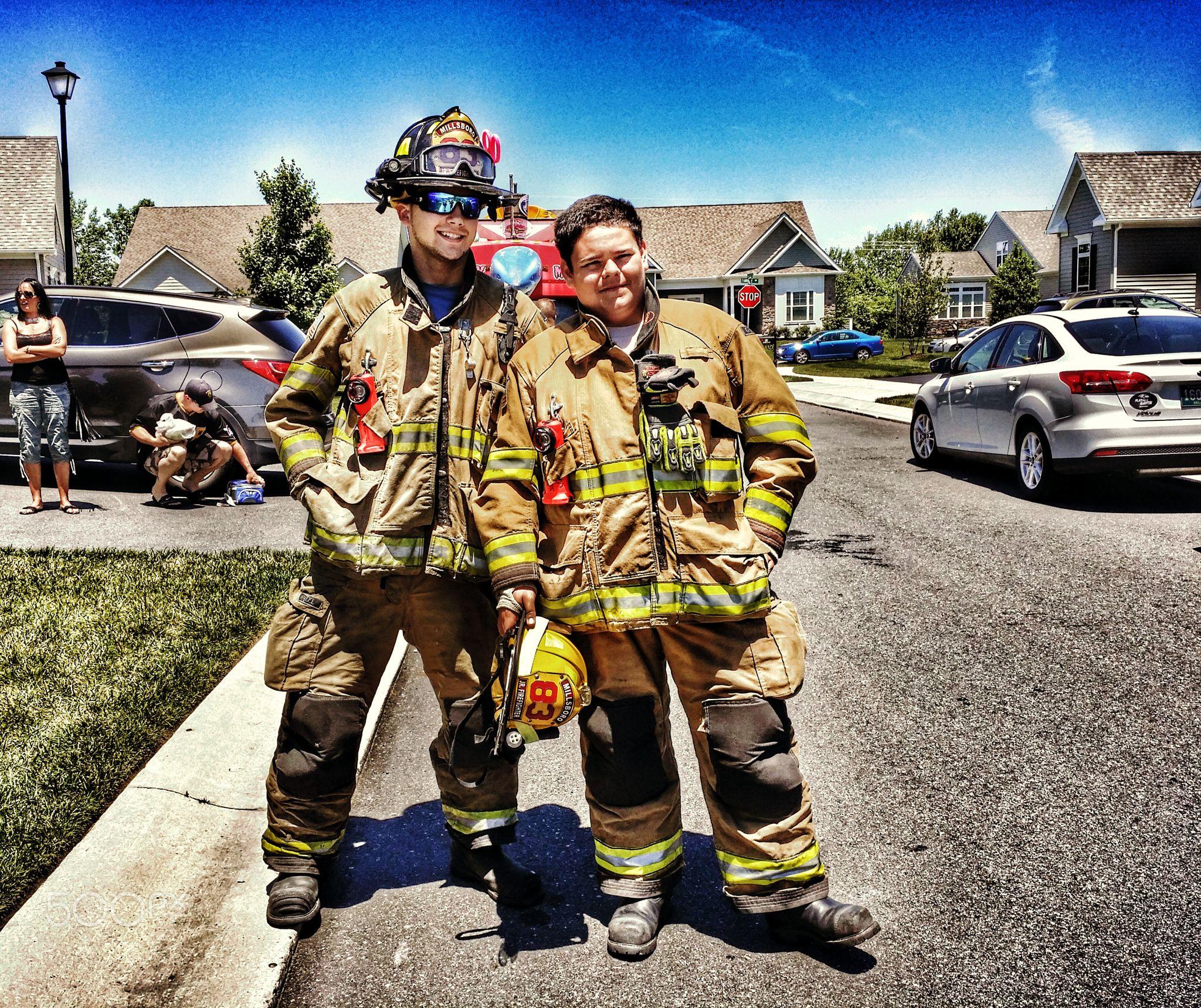 Volunteer firefighters millsboro fire company members