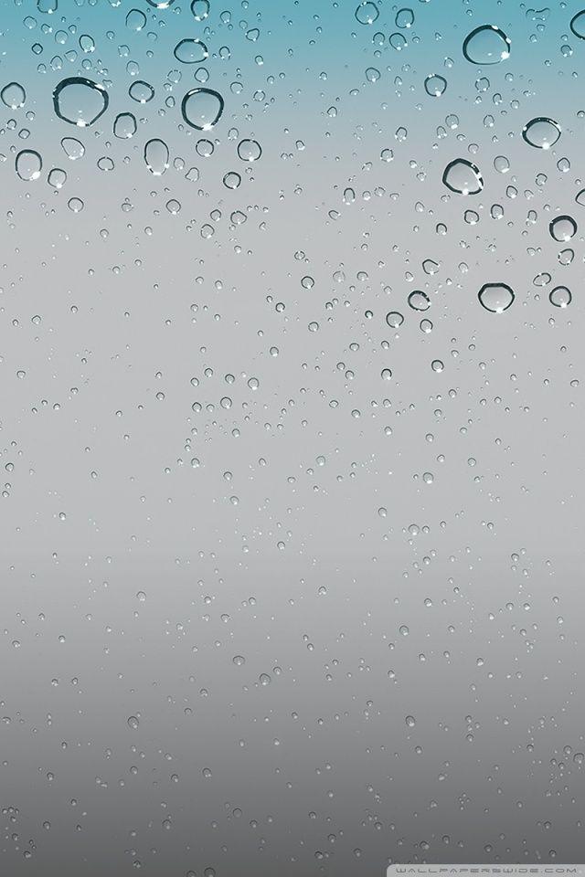 Ios Water Drops Wallpaper For The Desktop Iphone Wallpaper Pinterest Iphone Wallpaper Original Iphone Wallpaper