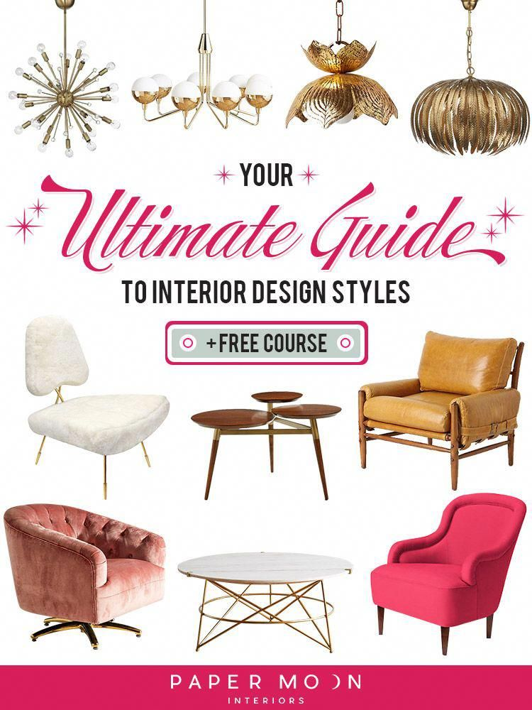 Interior Design Style There Are So Many Of Them What S A Girl To