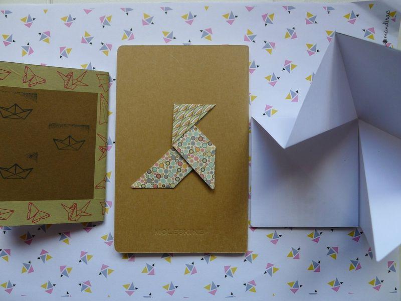 carnets origami