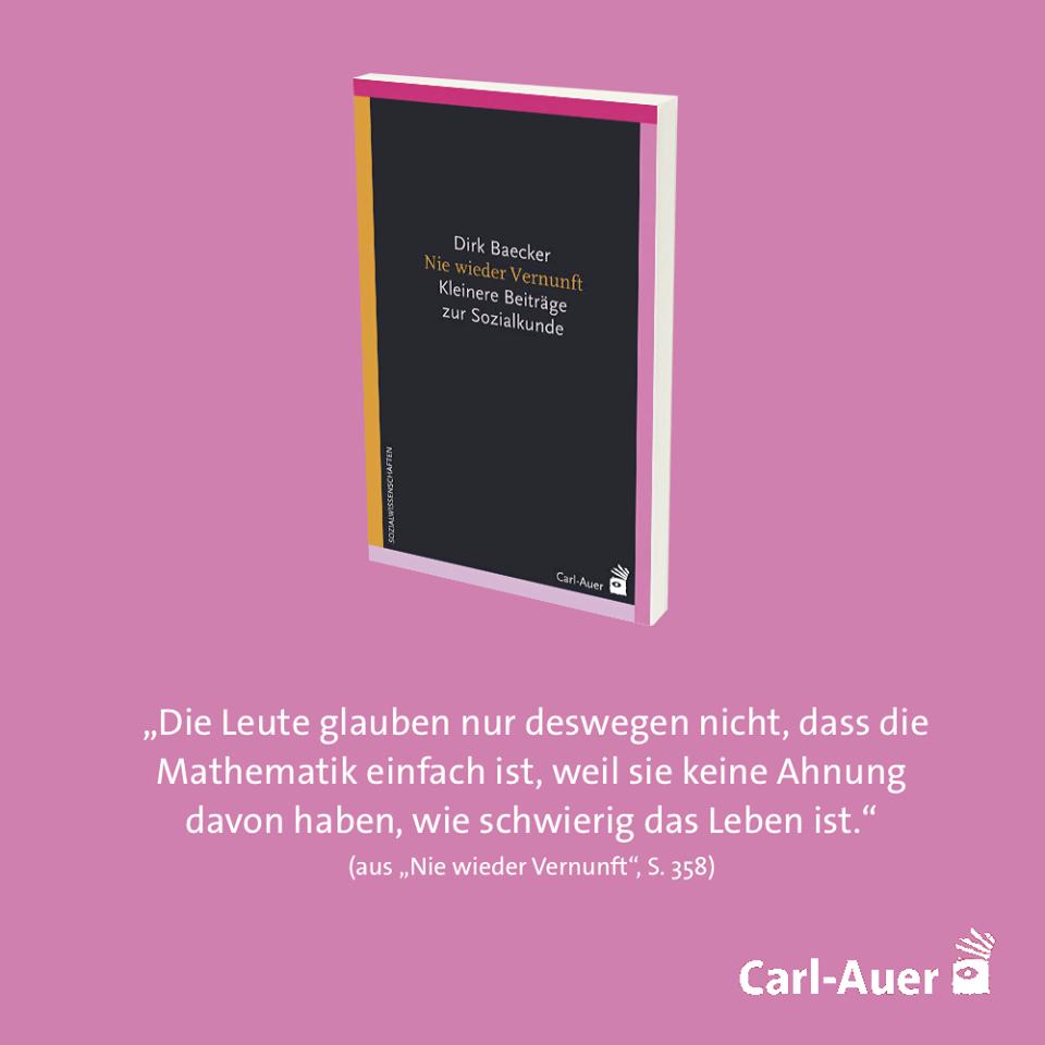 Pin Von Carl Auer Verlag Auf Carl Auer Buchzitate Systemisch Systemische Therapie Sozialkunde