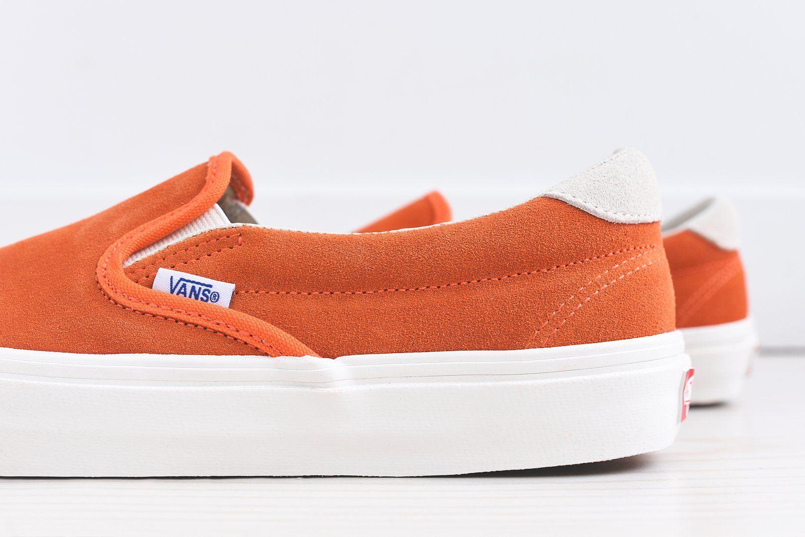 Vans OG Slip-On 59 LX - Red Orange