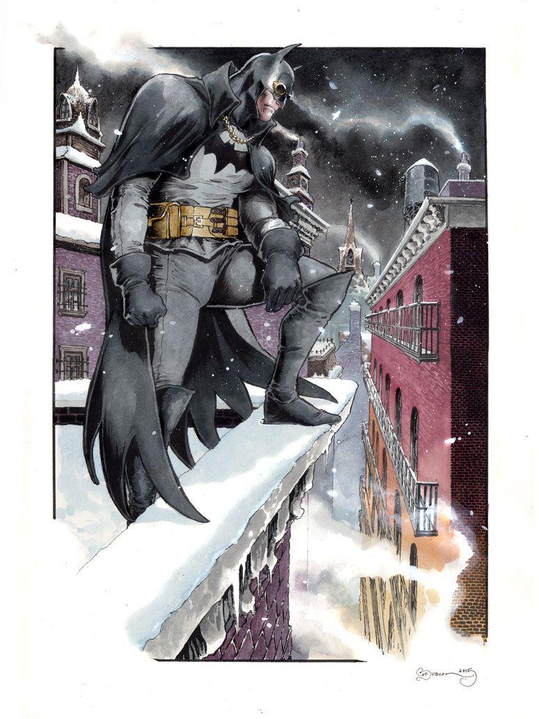 Batman Gotham By Gaslight By Danielgovar On Deviantart Batman Artwork Batman Comics Batman