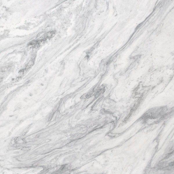 Mont Blanc marble has a white background accented with veins of dark to  medium gray. Its sugary crystalline appearance adds a glamorous touch to  this ...