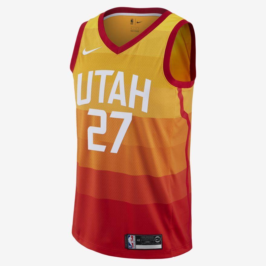Rudy Gobert City Edition Swingman (Utah Jazz) Men s Nike NBA Connected  Jersey 1c9f42b55