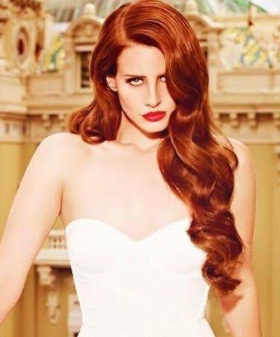 Pin By K Zhivar On Redheads Lana Del Rey Hair Long Hair Styles Gorgeous Hair