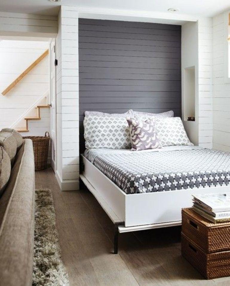 Opklapbaar Bed Tegen Muur Mn Lake Home Murphy Bed