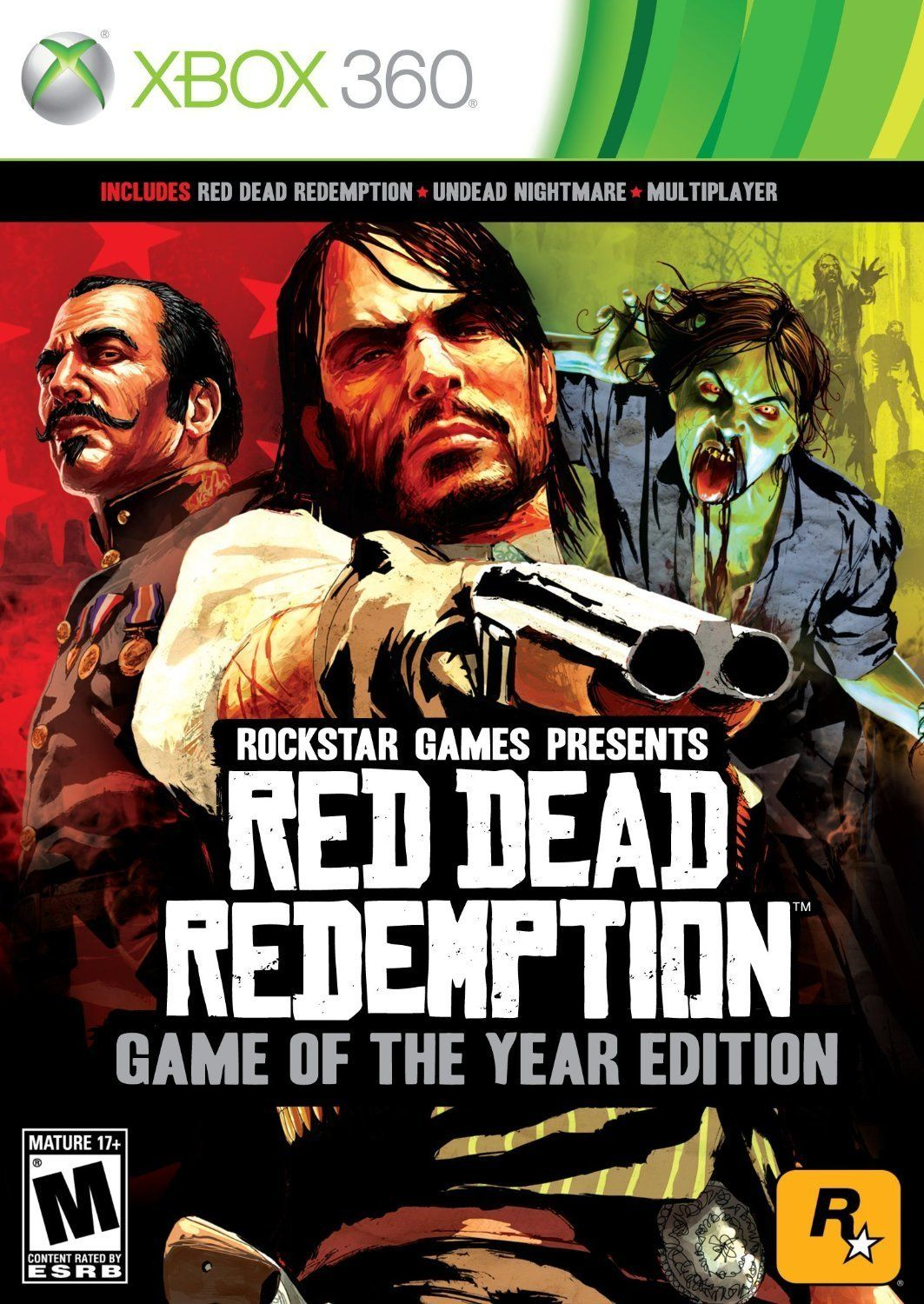 Jack Of All Games Red Dead Redemption Juego Xbox 360 Game Of The Year Edition Amazon Com Mx Videojuego Juegos De Xbox One Juegos Para Xbox 360 Xbox 360