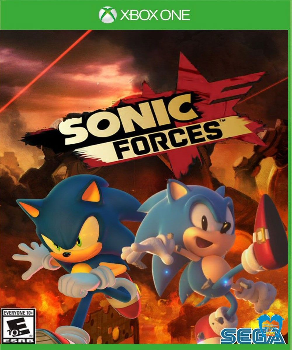 Sonic force Sonic, Ps4 games, Xbox one games