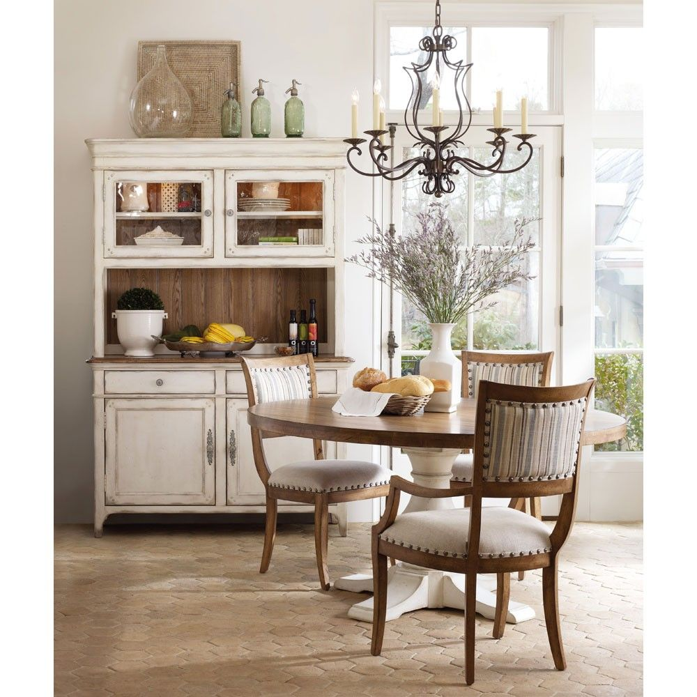 Hooker Furniture Chic Coterie Buffet with Hutch