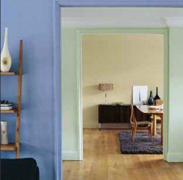 Marier les couleurs de peinture dans salon, salle à manger, chambre