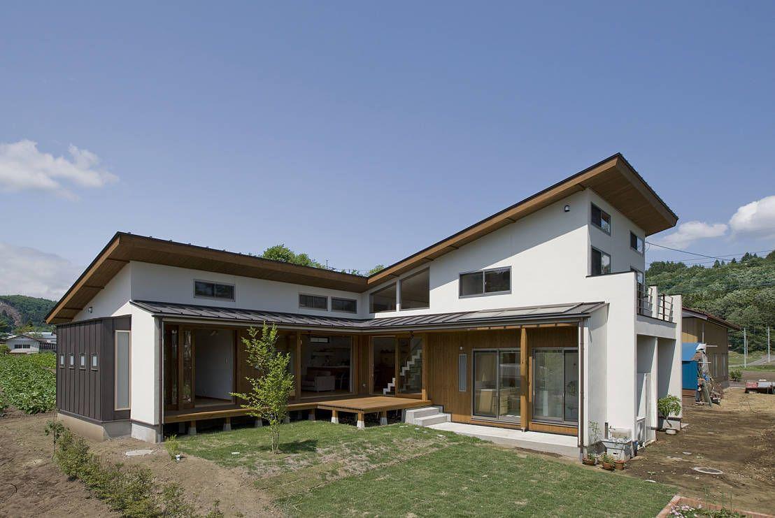 Ein L-förmiges Haus, super gemütlich zum Wohnen | homify | Pinterest ...