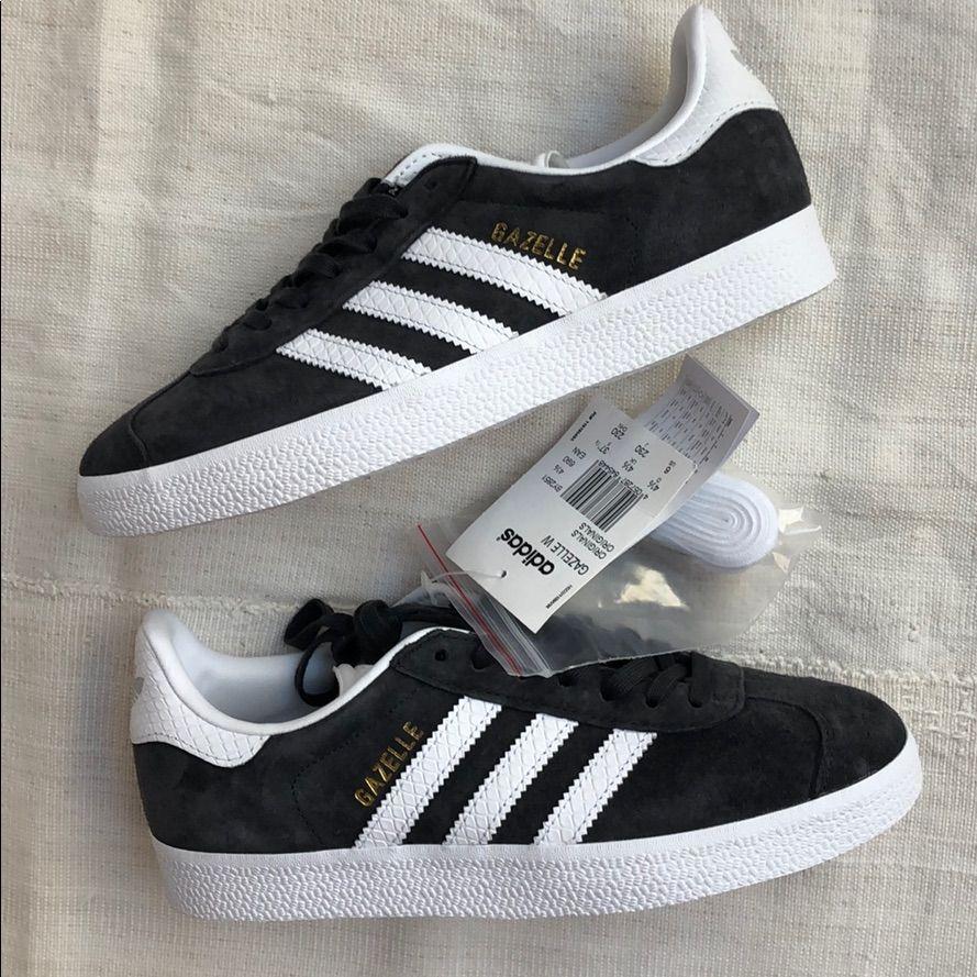 NWT Adidas Gazelle grey suede sneakers Sz 7.5   Adidas gazelle ...