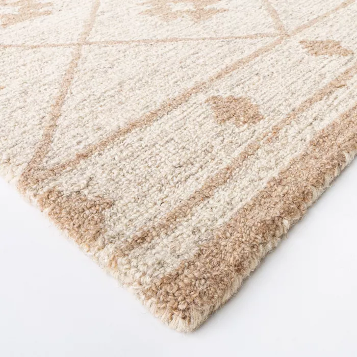 Tremonton Hand Tufted Wool Area Rug Cream Threshold Designed With Studio Mcgee Wool Area Rugs Rugs Studio Mcgee