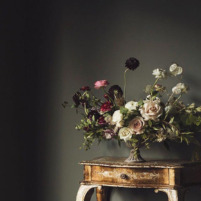 Beautiful Flower Arrangements For Weddings: WINTER WEDDING OF WHITE, BLUSH AND DEEP BURGUNDY
