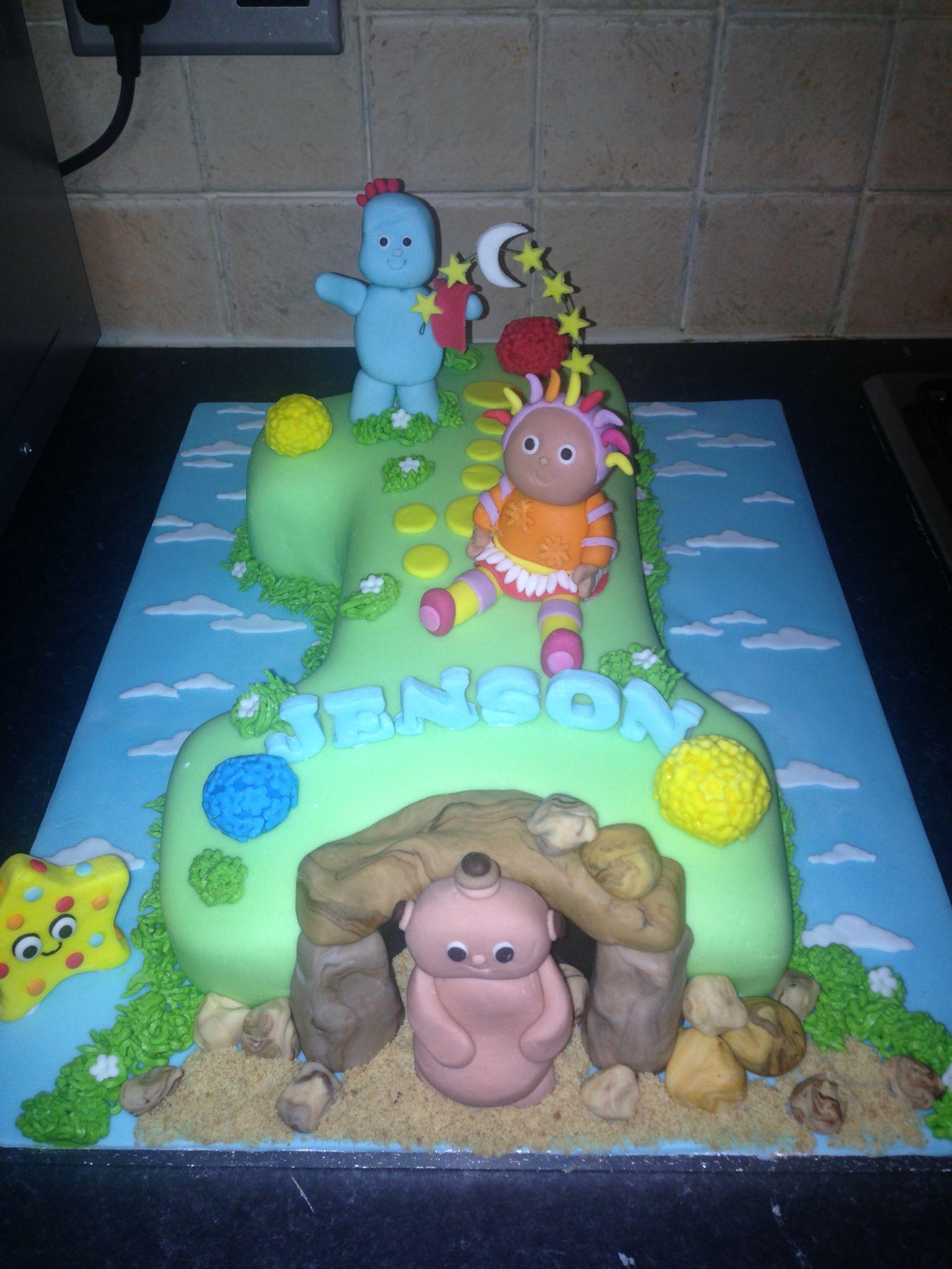 In the night garden cake   Archie 2nd birthday   Pinterest   Night ...