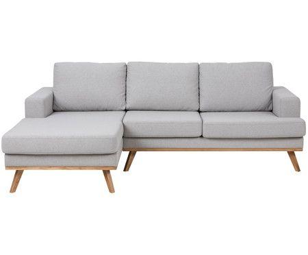 Ecksofa Norwich, Eckteil links - wohnzimmer couch gemutlich