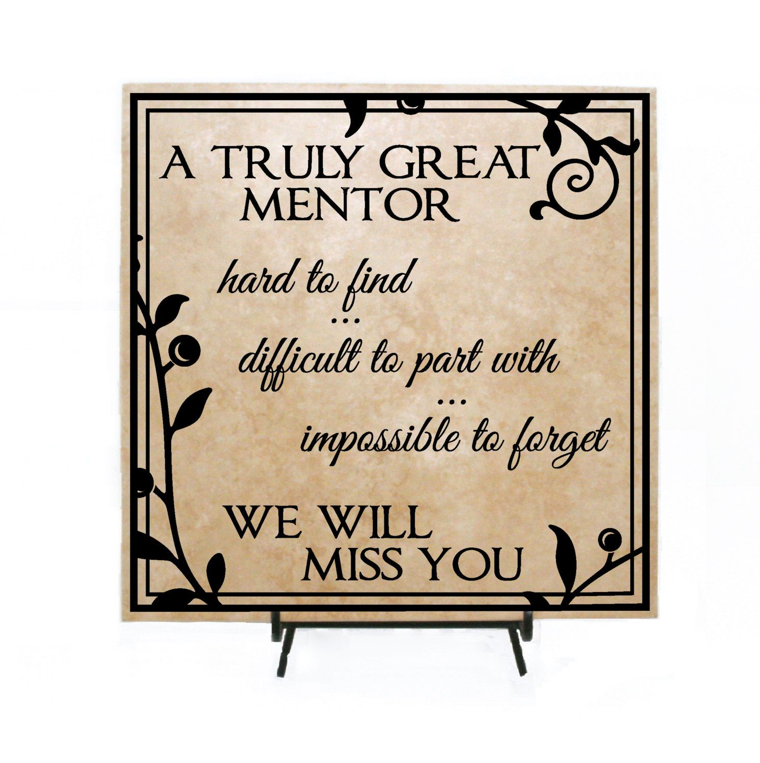 Truly Great Mentor Retirement Sign Retirement Quotes