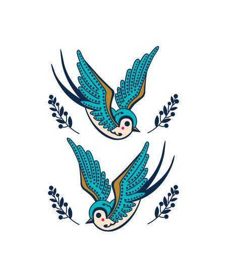 Tattoo Andorinhas Desenho Pesquisa Google Tatuagem Andorinha