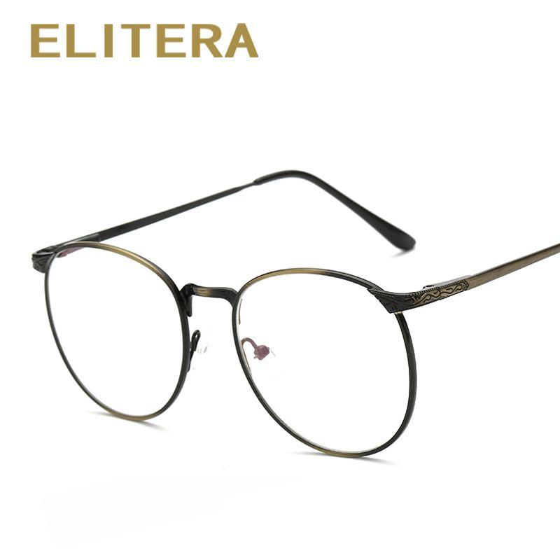 ELITERA Classic Glasses Frame Brand Designer Fashion Women Full ...