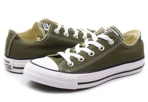 Tenisky Chuck Taylor All Star Seasonal Ox 151184C Zvoľte práve tieto zelené unisex topánky značky Converse s názvom Chuck Taylor All Star Season