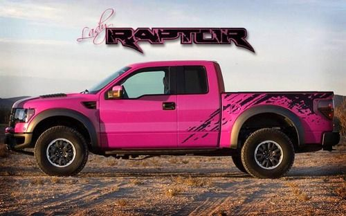Rough Around The Edges Pink Truck Trucks Ford Raptor