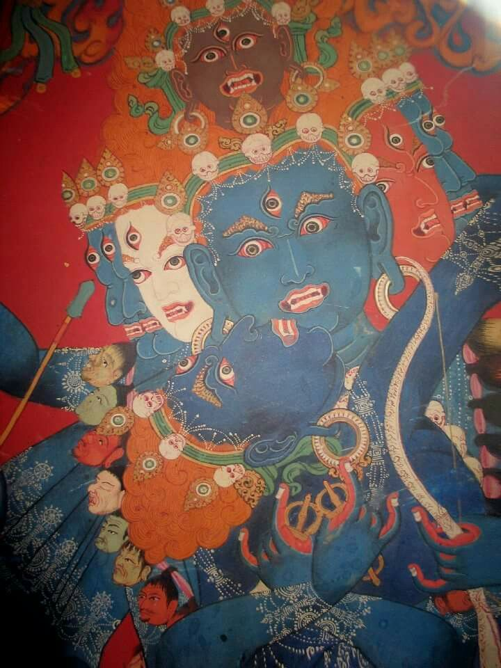Хеваджра | Arte tibetano, Budismo, Pinturas