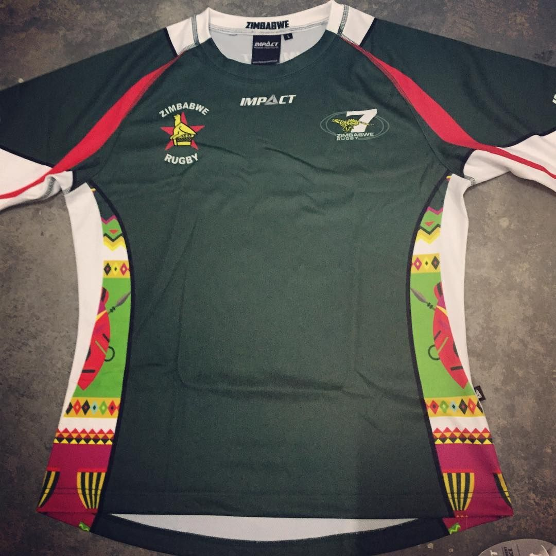 Get Your Official Training Jersey For The Zimbabwe Cheetahs Rugby Sevens Team Only From Us At Impact Prowear Support The Team Toda In 2020 Rugby Sevens Rugby Rugby 7s