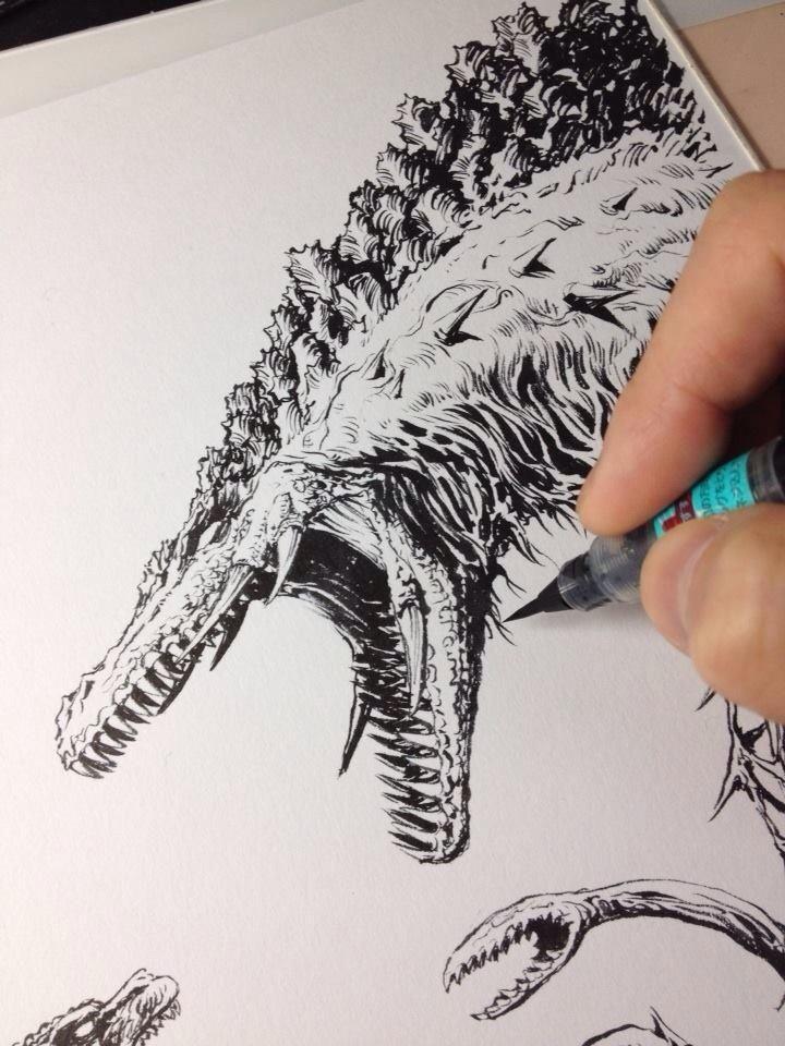 Dave Rapoza (DaveRapoza) on Twitter   Comic Art   Comic art, Ink art