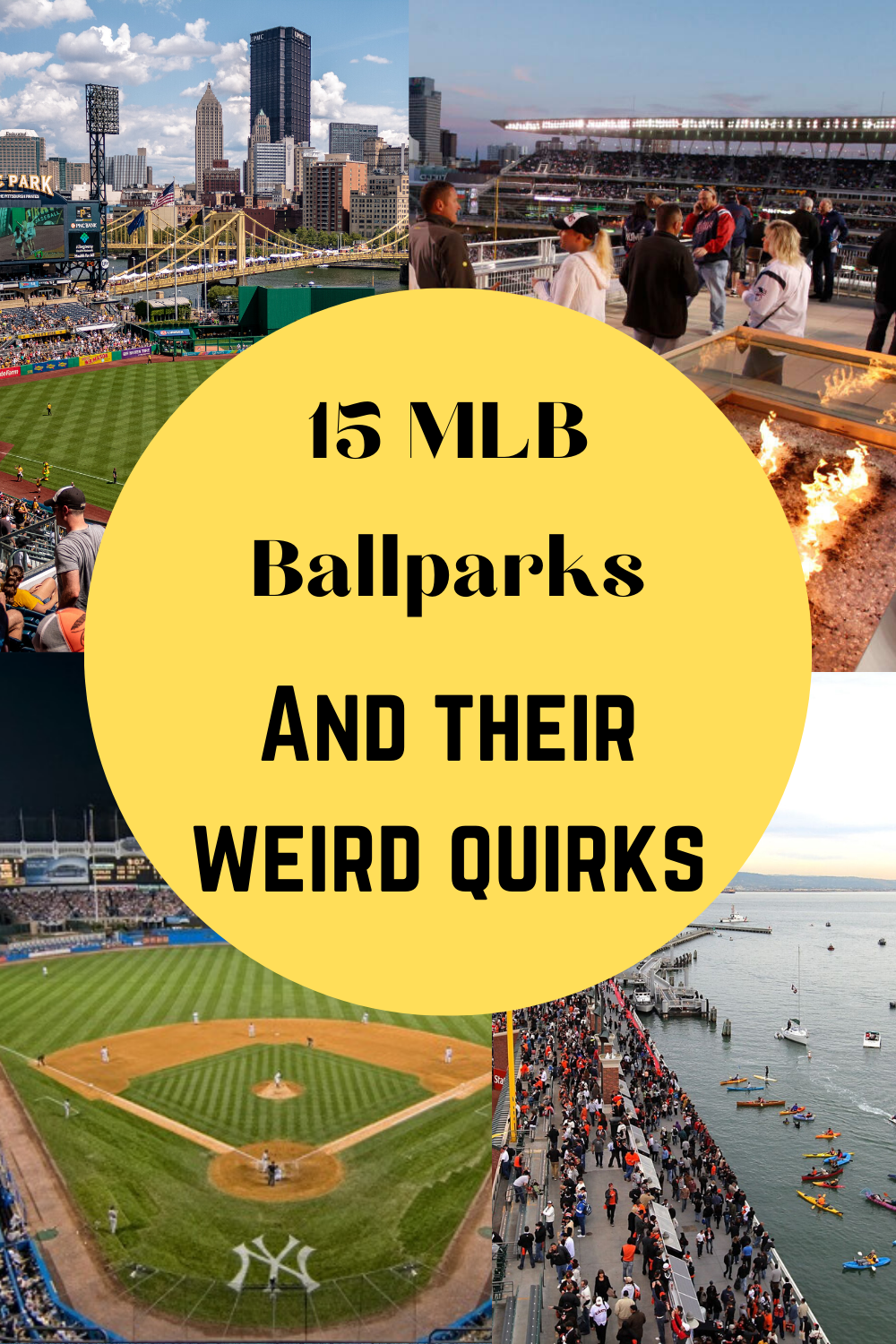15 Mlb Ballparks Have Made It Into Our Featured Article Ballparks With Swimming Pools Fire Pits Nightclubs A In 2020 Ballparks Major League Baseball How To Find Out