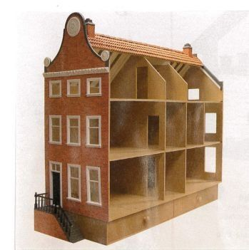 Hedendaags Bouwtekening Amsterdams Grachtenhuis Info: zie foto | Bouwtekening RG-27