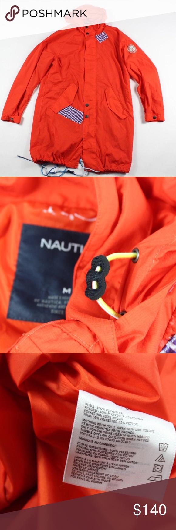 baa81addf Sample Vintage Nautica Spell Out Raincoat Jacket M Vintage 90s ...
