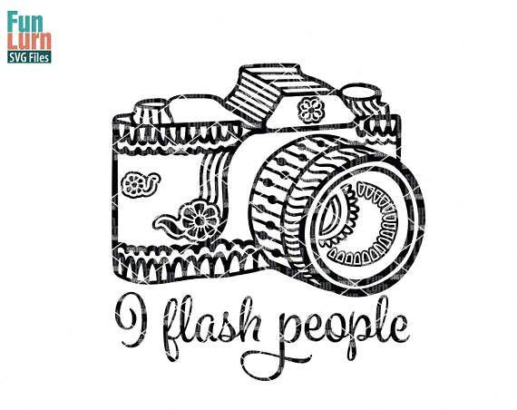 i flash people svg photographer svg camera zentangle