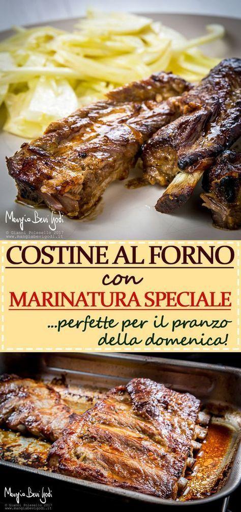 Costine Di Maiale Al Forno Con Marinatura Speciale Mangia Bevi Godi Blog Di Cucina E Ricette Ricetta Ricette Ricette Di Cucina Piatti Di Carne