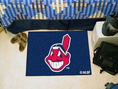"""MLB - Cleveland Indians Starter Rug 19""""x30"""""""