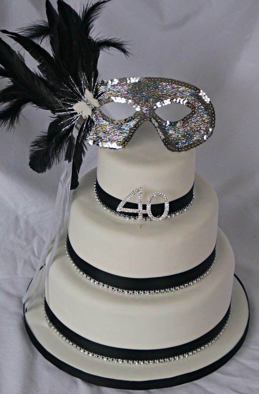 Masquerade Cake Masquerade Cakes Pinterest More