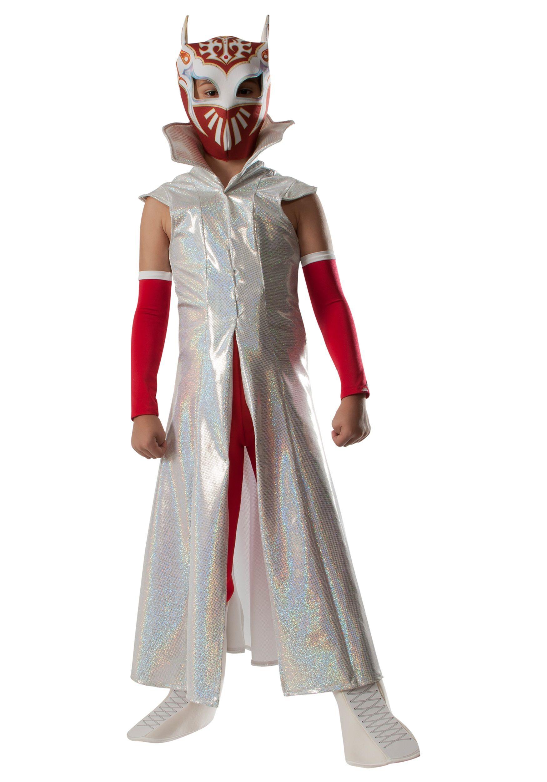 Boys Deluxe WWE Sin Cara Costume | Sin cara and Wwe superstars