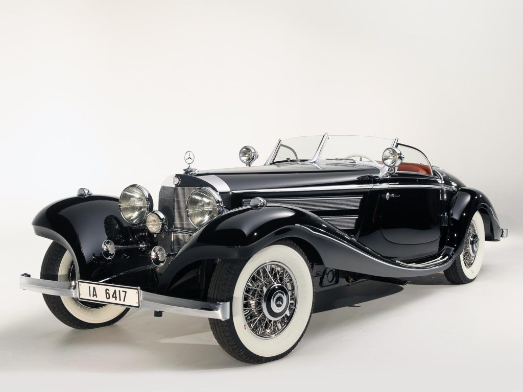 1936 Mercedes Benz 540k Spezial Roadster