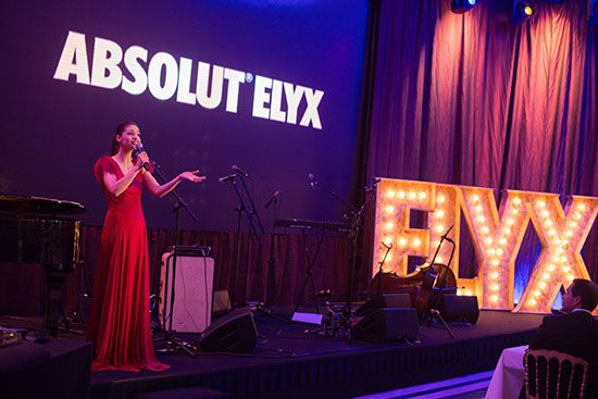 Sofia Escobar at the Absolut Elyx Dinner at FSLisbon