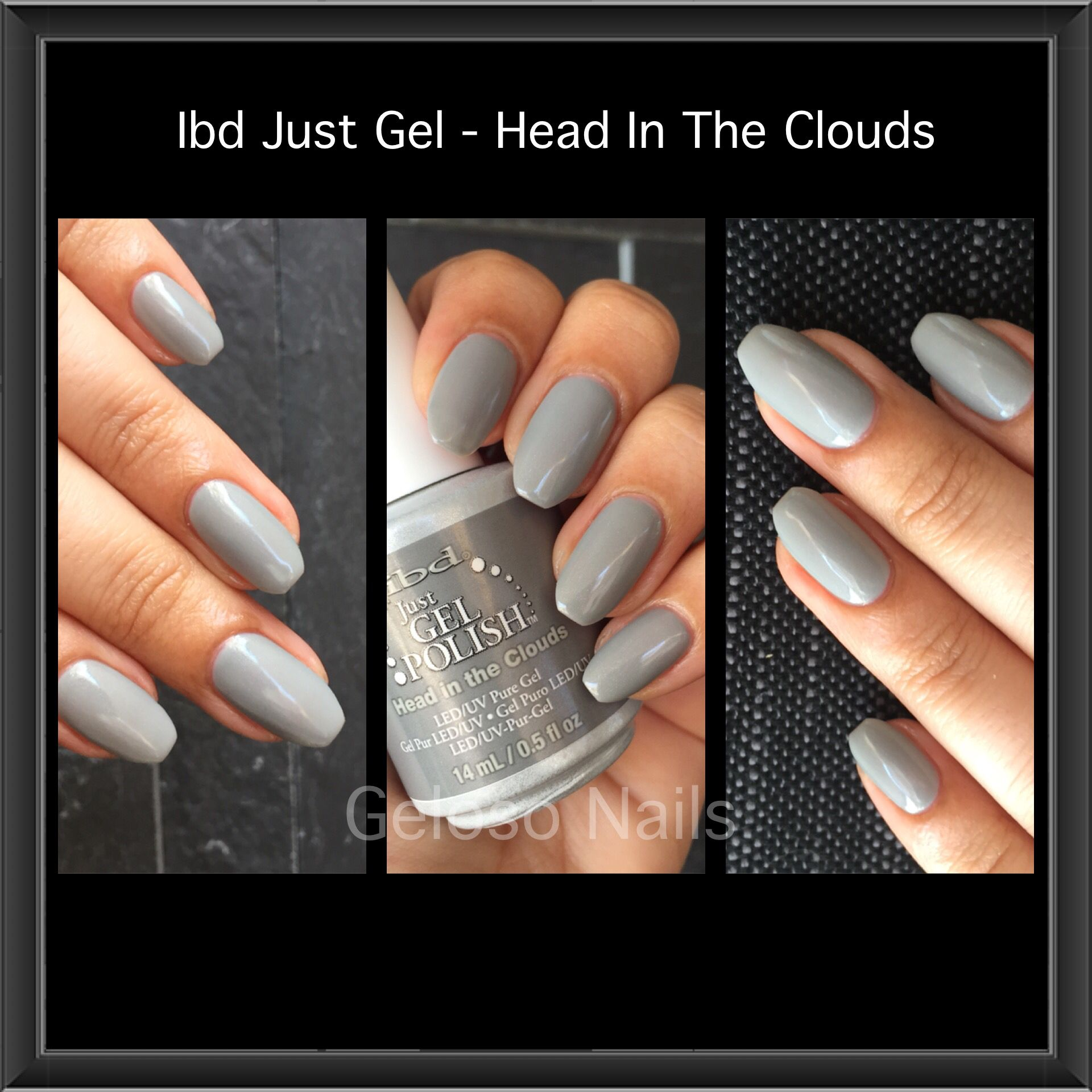 Head In The Clouds With Images Makeup Nails Gel Nails Ibd