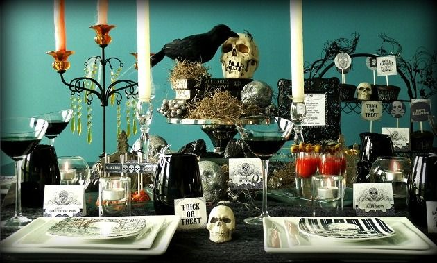 Wicked Halloween Dinner Party - Celebrations at Home