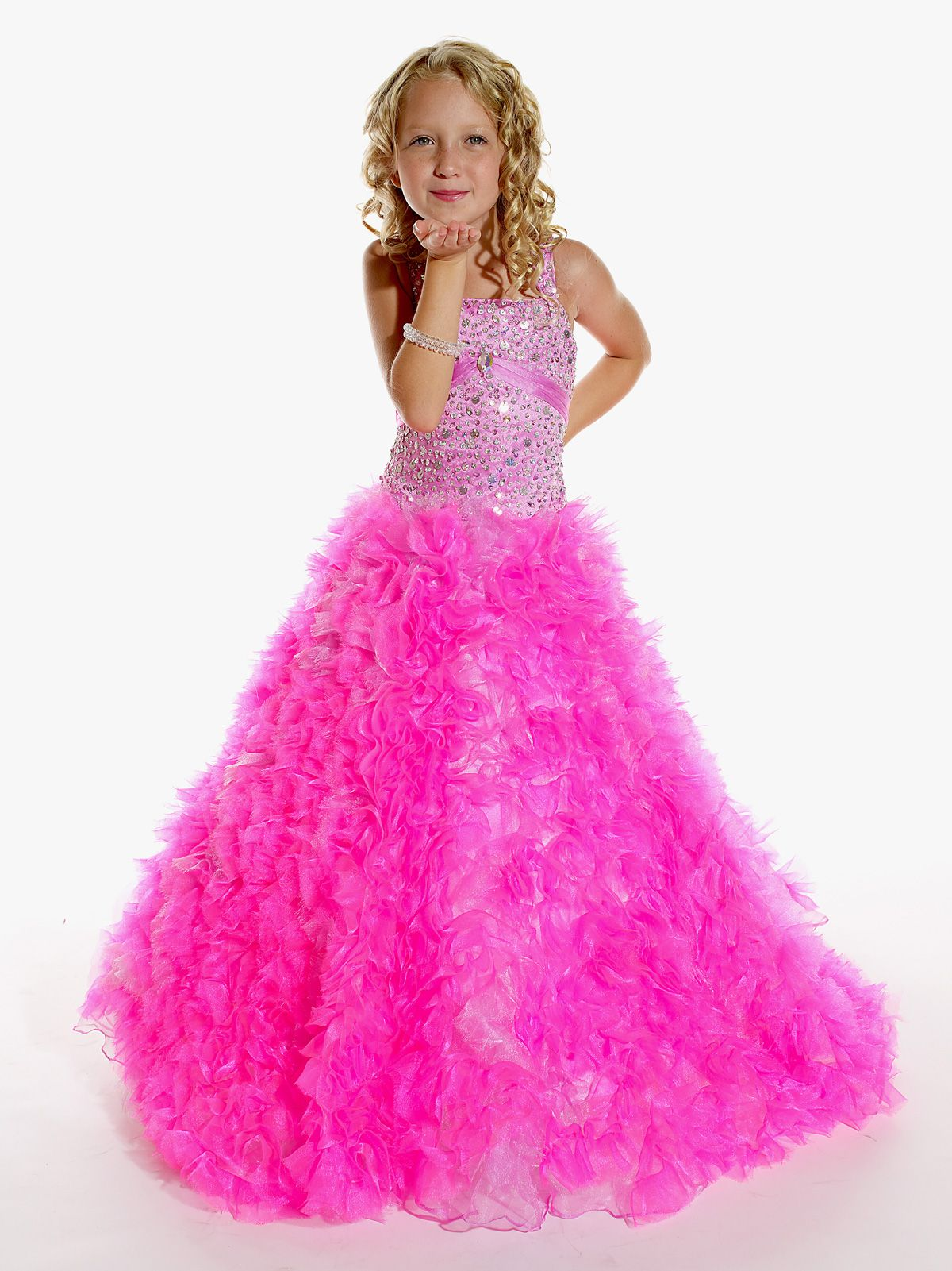 This organza pageant dress Tiffany Princess by House of Wu Pageant ...