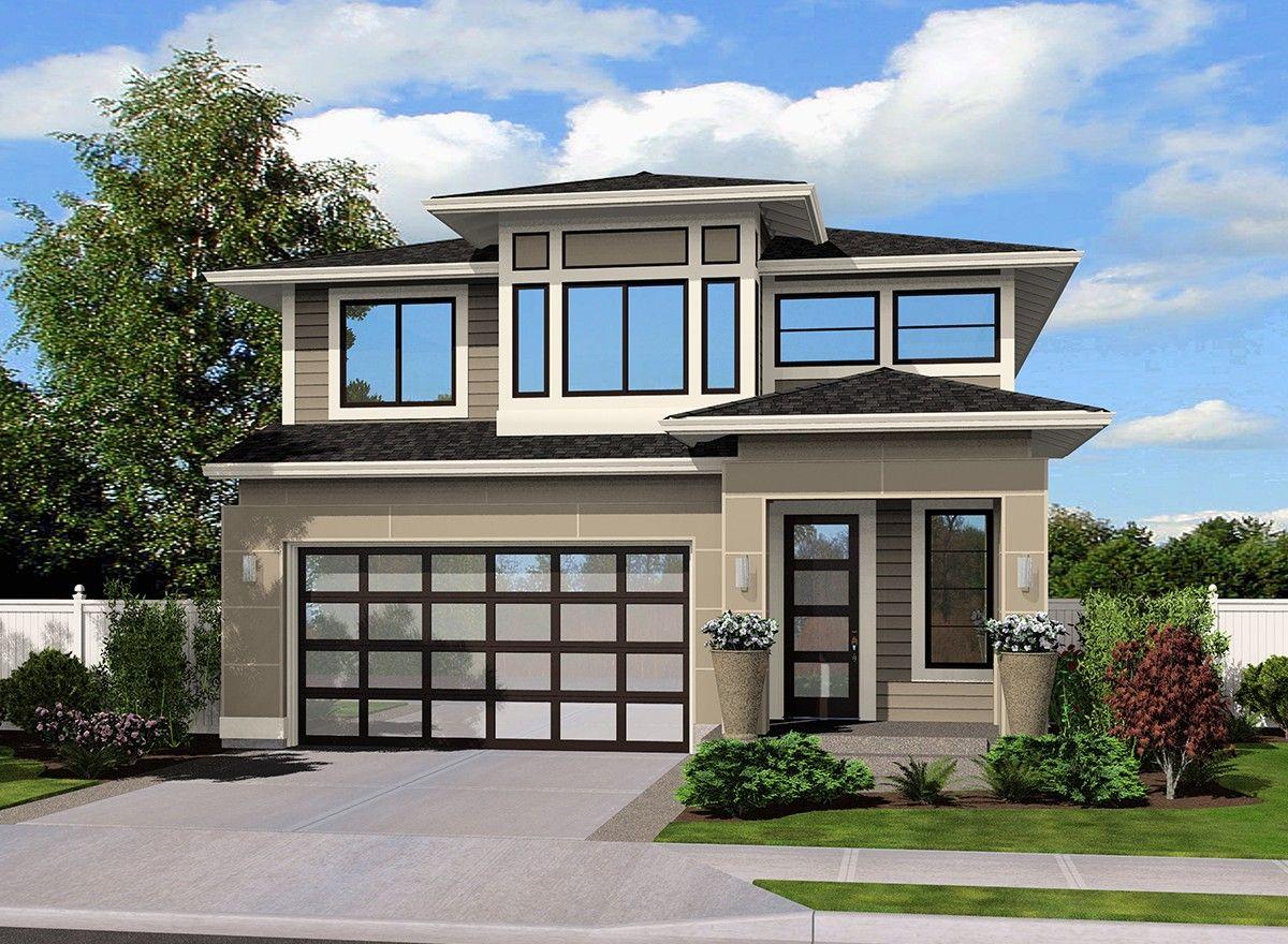 Plan 23493JD Contemporary Northwest Home Plan Plan