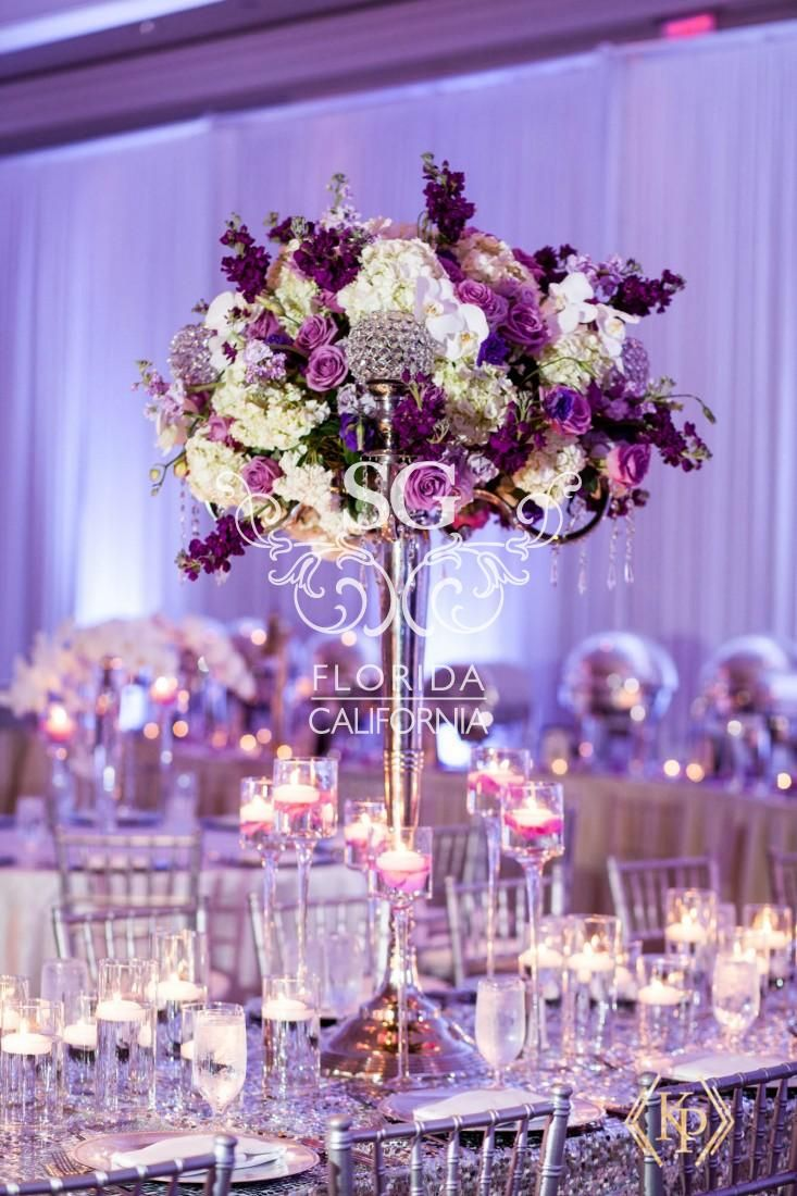 Pin On Glamour N Luxury Wedding Centerpieces