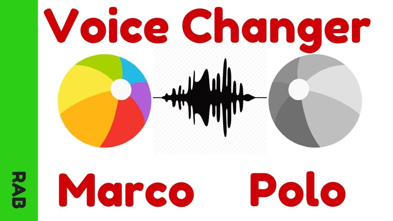 Voice Changer on Marco Polo App Marco Polo App Tutorial