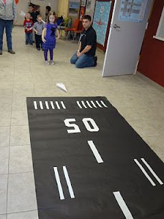 Runway for paper airplanes Airplane birthday party and inspiration
